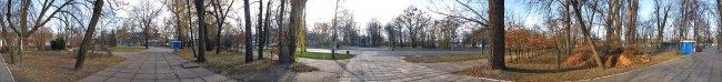 Панорама Белой Церкви: Парк Т.Г. Шевченко