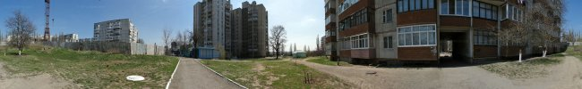 Панорама Белой Церкви: Ул. Леваневского. 3-й микрорайон