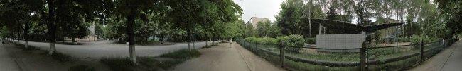 Панорама Белой Церкви: Ул. Митрофанова. 1-й микрорайон