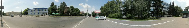 Панорама Белой Церкви: Ул. Ярослава Мудрого